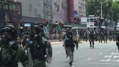 """Protestas en Hong Kong contra ley de """"seguridad nacional"""" promovido por Pekín"""
