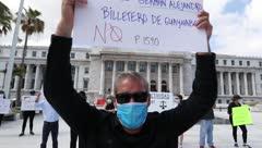"""Protesta en el Capitolio: """"Esto es un dolor que se revive"""""""