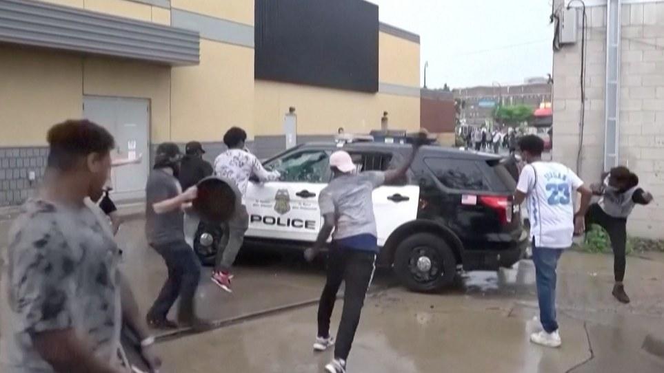 Impactantes disturbios tras el asesinato de George Floyd