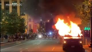 El toques de queda no detienen las protestas contra el racismo y violencia policial en Estados Unidos