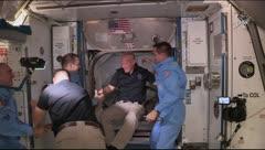 Sensacional llegada de SpaceX y la NASA