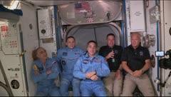 Así fue como los astronautas de SpaceX abordan la Estación Internacional
