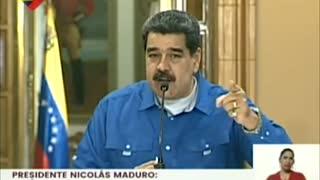 Nicolás Maduro compara el trato de Estados Unidos hacia Venezuela con la muerte de George Floyd