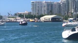 Minutos luego de que avioneta se estrelló en la bahía de San Juan