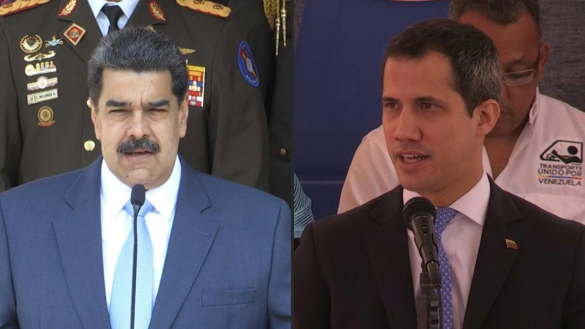 Pasó lo inesperado: Nicolás Maduro y Juan Guaidó llegaron a un acuerdo
