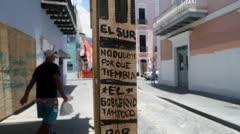Amanece el Viejo San Juan con grafiti y estos son los mensajes
