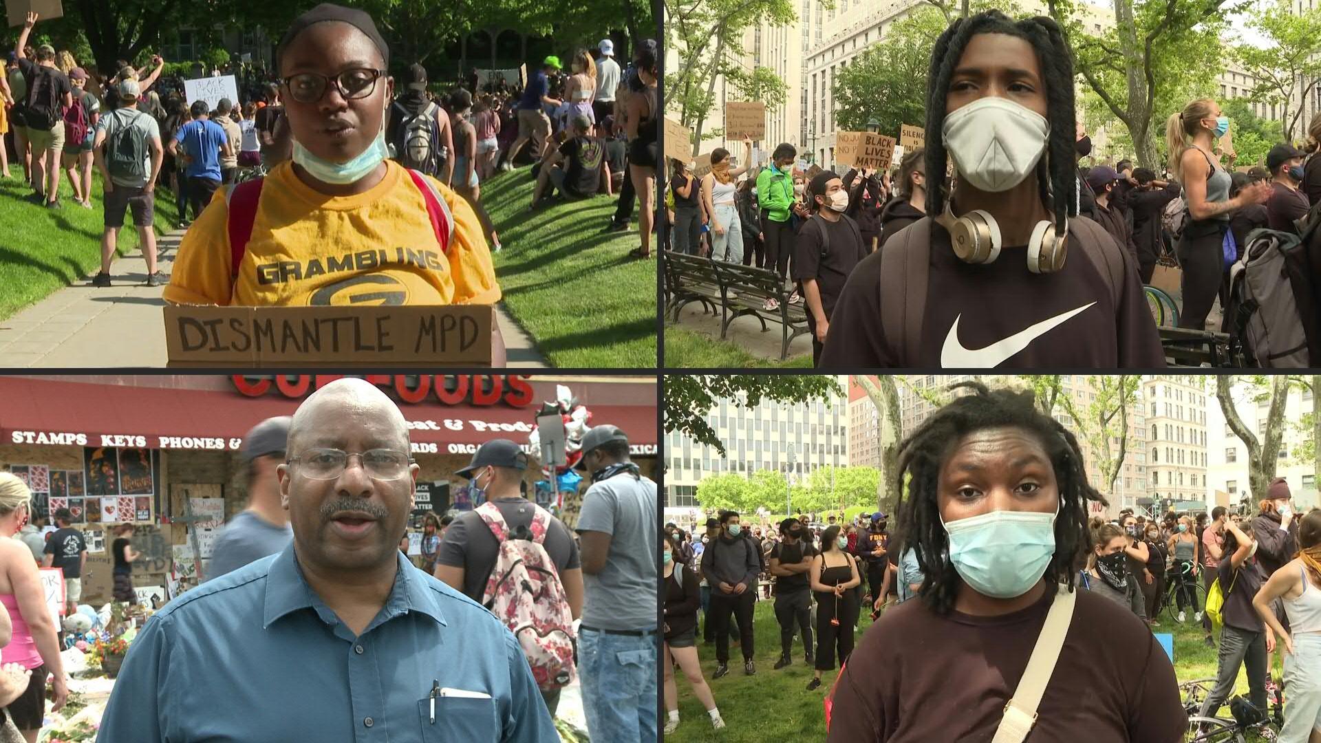 "Poderosas voces contra el racismo: ""¡Pedimos que no nos maten!"""