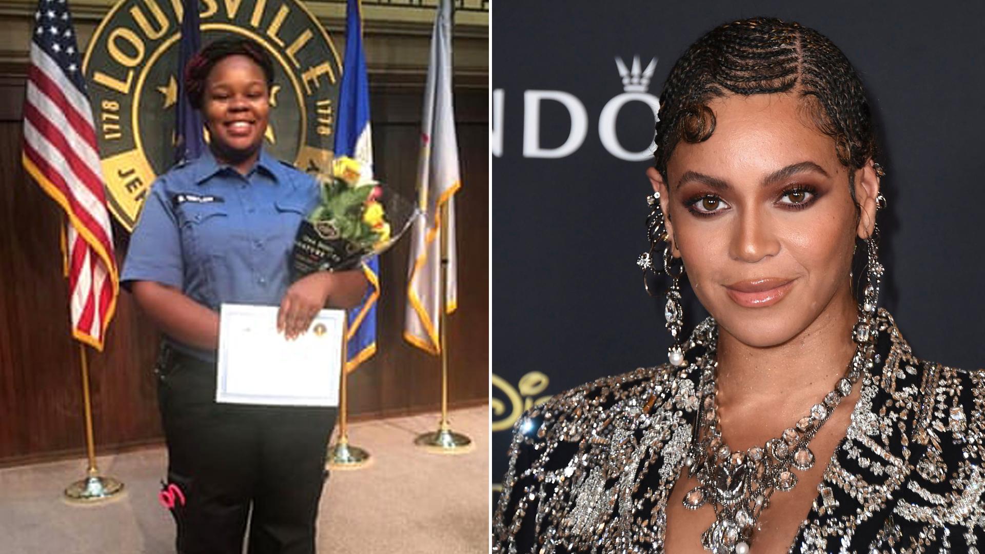 Beyoncé pide justicia para Breonna Taylor