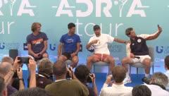 Dos tenistas contraen COVID-19 en torneo
