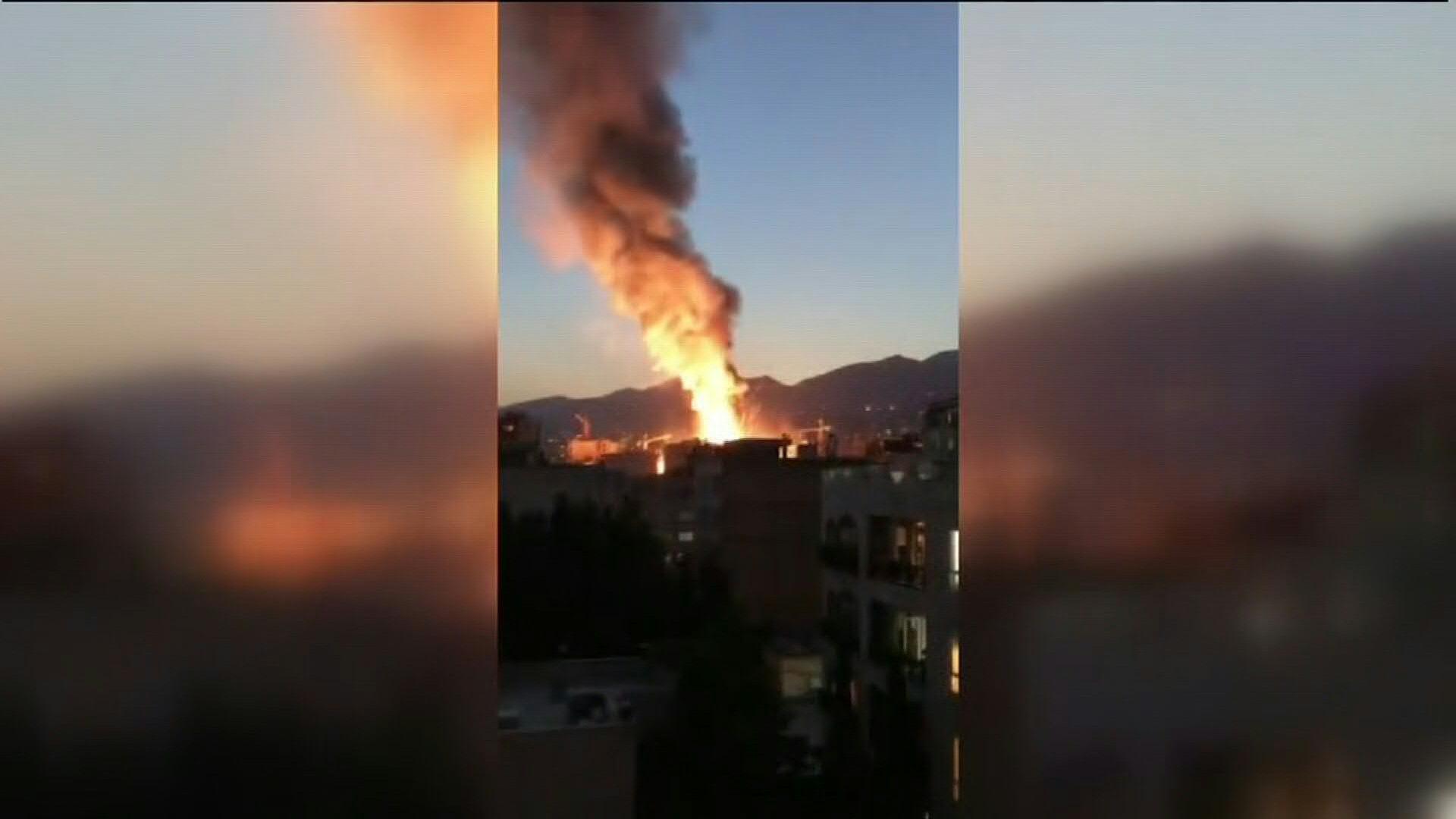 Gran explosión estremece a Irán