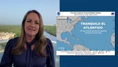 Deborah Martorell: condiciones del tiempo calurosas y brumosas