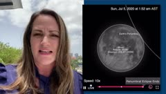 Deborah Martorell: este fin de semana habrá un eclipse penumbral de la Luna
