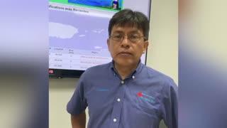 Víctor Huérfano advierte que los temblores van a continuar