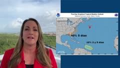 Deborah Martorell: una onda tropical se acerca a Puerto Rico