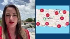 Deborah Martorell: prevalece el calor y la humedad