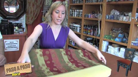 Paso a paso aprende a tapizar una silla - Como tapizar una silla paso a paso ...