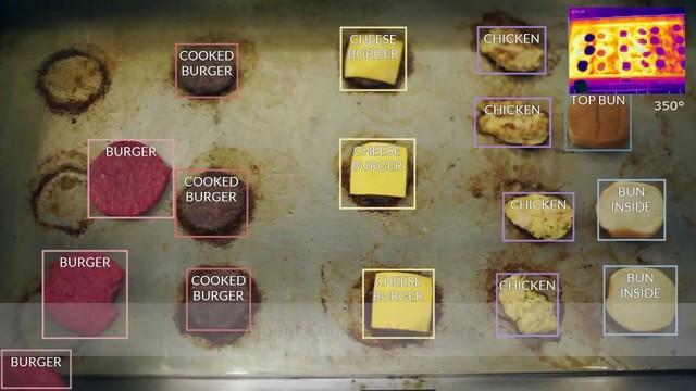 El robot experto en preparar hamburguesas