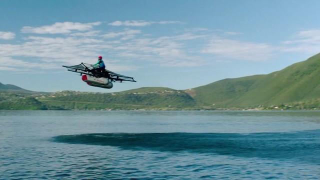 Mira el primer vehículo volador individual
