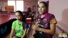 """Melanie y Adriana Díaz entrenan para """"un torneo fuerte"""""""