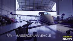 Aquí el primer vuelo de prueba de auto volador de Boeing
