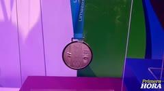 Presentan las medallas de los Juegos Panamericanos de Lima
