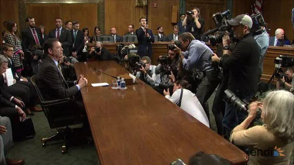 Trump asegura que no posee grabaciones sobre el exdirector del FBI