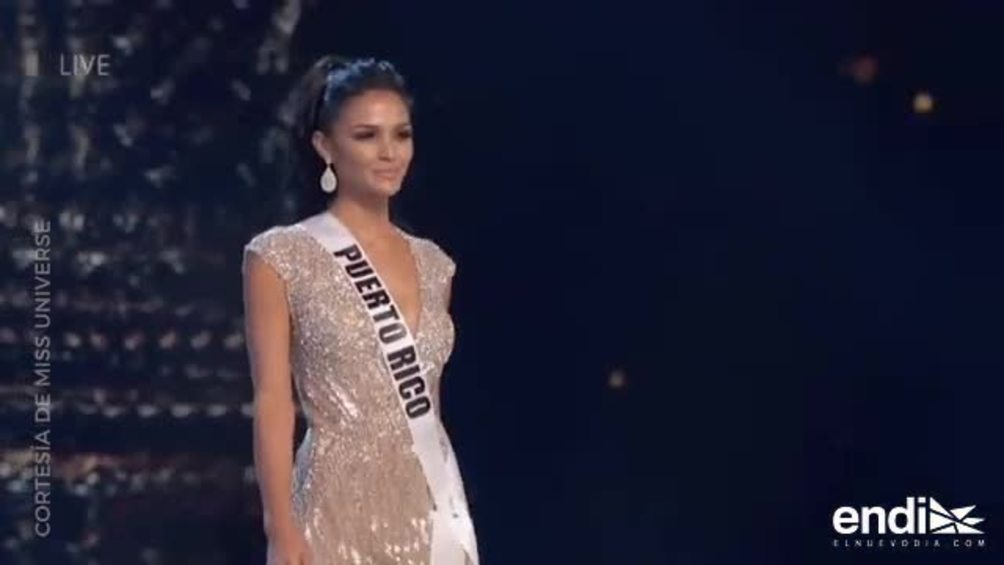 Kiara Liz Ortega conquista la preliminar de Miss Universe