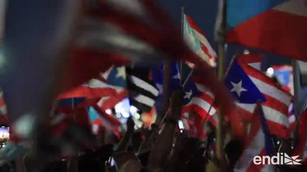 Mira lo que transcurrió en el quinto día de protestas por la renuncia de Rosselló