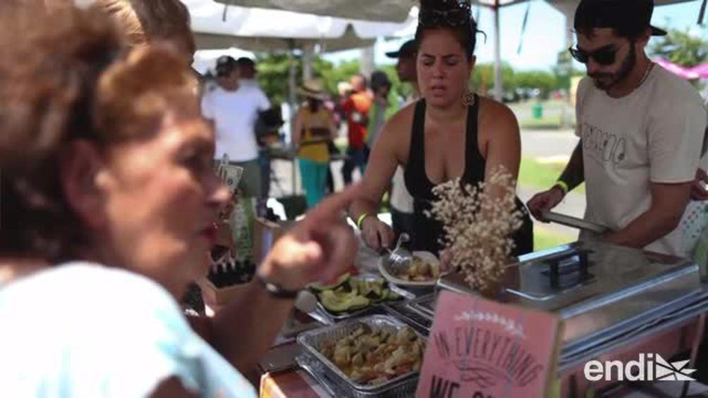 El público disfrutó del Festival Larga Vida organizado por Robi Draco Rosa