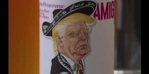 Crean una cerveza con Donald Trump en la etiqueta