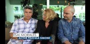 """""""Simone"""" llegará a los cines con Esaí Morales"""