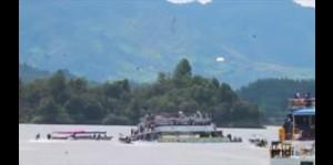 Al menos nueve muertos por naufragio en represa de Colombia
