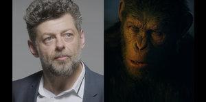 """Actor enseña los trucos del nuevo filme de """"Planet of the..."""