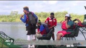 Veteranos y jóvenes con problemas buscan cura en la natur...