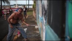 Calles de Arecibo pasan del abandono a ser obras de arte