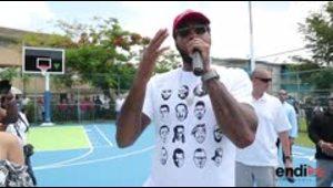 La fundación de Carmelo Anthony rehabilita una cancha en ...