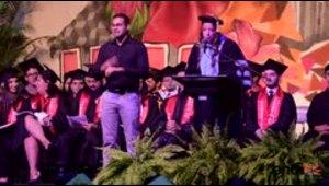 Celebran simbólica graduación en la UPR de Río Piedras
