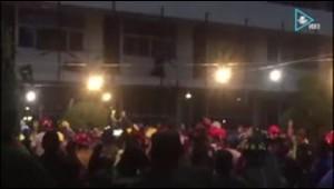 Dramático rescate en una escuela en México tras el sismo