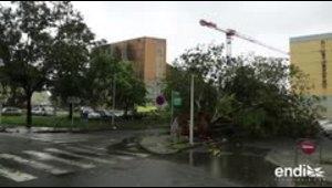 Al menos dos muertos por huracán María en el Caribe