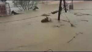 """Residente de Toa Baja: """"Estamos atrapados"""" por el agua"""