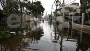 Ocean Park está inundado