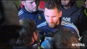 "Messi: ""hubiese sido una locura"" no ir a Rusia-2018"