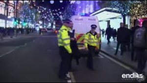 Reportan incidente en la estación Oxford Circus en Londres