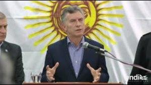 Presidente argentino pide investigar qué pasó con submarino