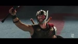 Así se grabó una escena de Thor: Ragnarok