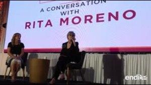 Rita Moreno sorprende en la isla con una nostálgica inter...