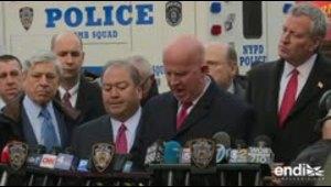 Ataque en metro de Nueva York deja tres heridos