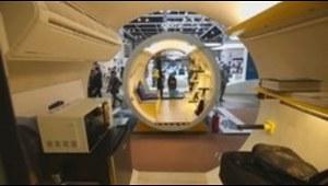 Lo nuevo en residencias: vivir en un tubo