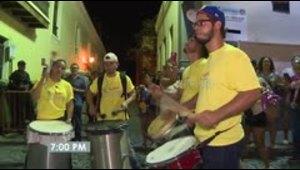 Así vive una jornada en las Fiestas de la Calle San Sebastián