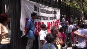 La oposición venezolana realizó reuniones en rechazo a las elecciones presidenciales